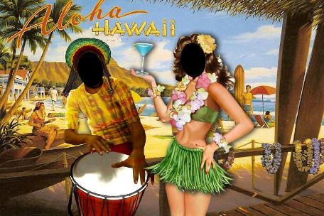 Аренда баннера для Гавайской вечеринки, Прокат гавайского баннера в стиле Гавайи