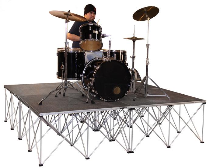 Аренда подиума для барабанов 2 х 2